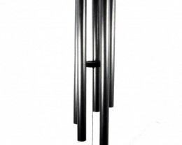 127cm 5-tubes Silver Harmonious Windchime  code C-SWC50
