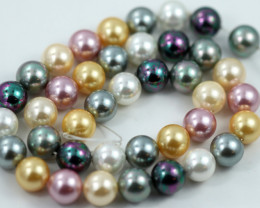 10 mm Shell Pearl colour Strand  AHA 638