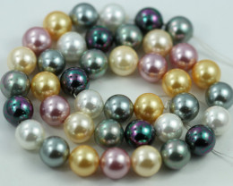 10 mm Shell Pearl colour Strand  AHA 639