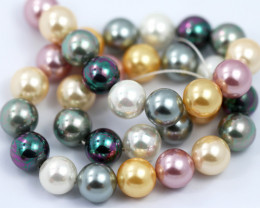 12 mm Shell Pearl colour Strand  AHA 647