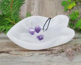Selenite Bowl Jewelry Pack