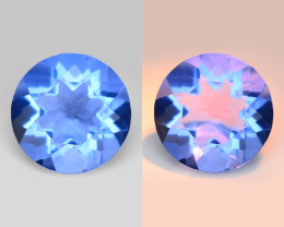 *NoReserve*Fluorite 2.98 Cts Very Rare Color Change Natural Gemstone