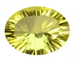 *NoReserve*Lemon Quartz 13.91 Cts Natural Gemstone