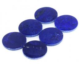 *NoReserve*Lapis Lazuli 6.86 Cts 6pcs Blue Natural Gemstone