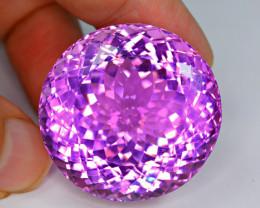Flawless 201 Carat  Pink Kunzite Gemstone