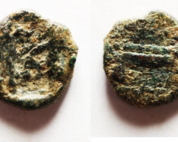 Greek   PHOENICIA, Sidon. Ba`alšillem 401-365 BC.   code CC 1183