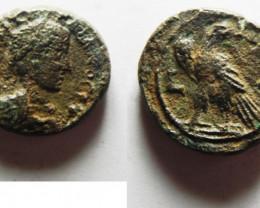 Roman Coin found in Egypt. AD 218-219  code CC 1188