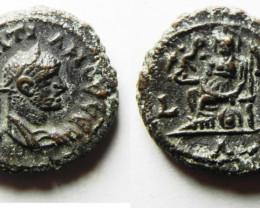 Roman Coin found in Egypt. AD 284-285     code CC 1189