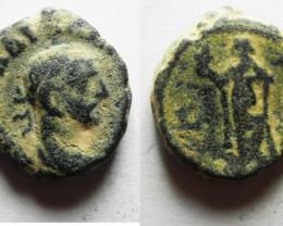 Provincial Roman coin found in Egypt Alexandria. 287-288 AD    code CC 1191