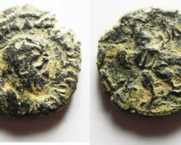Provincial Roman coin found in Egypt Alexandria. 287-288 AD    code CC 1193