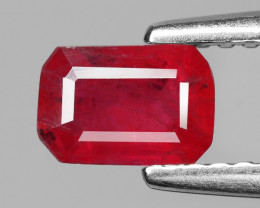 Ruby 0.71  Cts 6.14 X2.57 mm Pinkish Red Natural Ruby Loose Gemstone