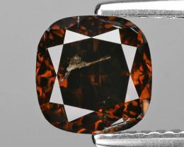 Diamond 1.66 Cts Fancy Reddish Brown Natural Diamond