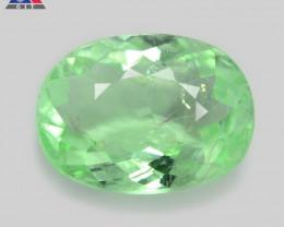 Paraiba Tourmaline 1.18 Cts GIT Certified Green Copper Bearing Natural