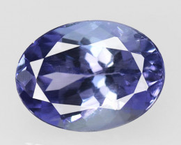 Tanzanite 1.35 Cts  Violet Blue Color Natural Tanzanite Gemstone
