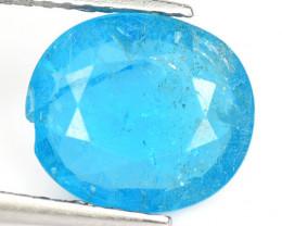 Apatite 2.09 Cts Neon Blue Natural Gemstone