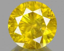Diamond 1.04 Cts Sparkling Fancy Intense Yellow Natural Diamond