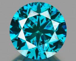 Diamond 1.14 Cts Sparkling Fancy Intense Blue Natural Diamond