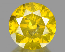 Diamond 1.04 Cts Sparkling Fancy Intense Yellow Natural