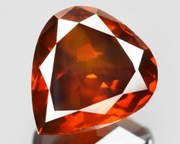 Diamond 1.31 Cts Sparkling Fancy Intense Red Natural
