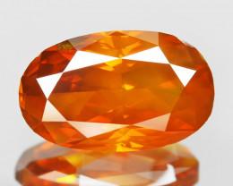 Diamond 1.66 Cts Sparkling Fancy Intense Orange Red Natural Diamond