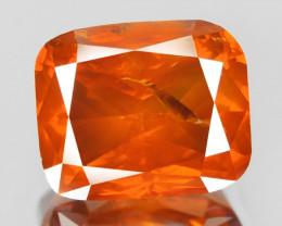 Diamond 1.40 Cts Sparkling Fancy Intense Orange Red Natural Diamond