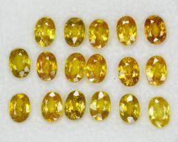 Sphene 10.16 Cts 17pcs 5.91x4.28 Excellent Color Change Natural Parce