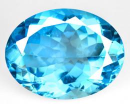 *NoReserve*Topaz 17.33 Super Swiss Blue Natural Gemstone