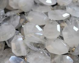 Wholesale 10 pcs Large Polyhedron Rock Crystal Pendants  AHA 727