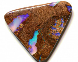 24.14 carats Boulder  Pipe Opal Cut Stone ANO-2614