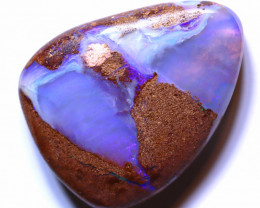 24.35 carats Boulder  Pipe Opal Cut Stone ANO-2617