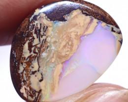 10.84 carats Boulder  Pipe Opal Cut Stone ANO-2651