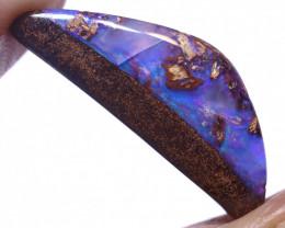 8.26 carats Boulder  Pipe Opal Cut Stone ANO-2653