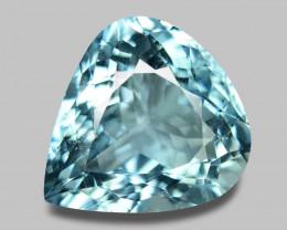 Aquamarine 9.76 Cts Unheated Sky Blue Color Natural Gemstone