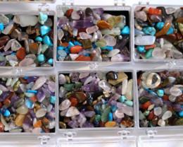 Six Sets Treasure Of The Earth Tumbled Stones AHA 857
