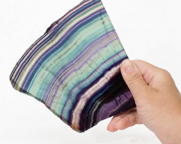 Natural Rainbow Fluorite Polished Slab Plate DS832