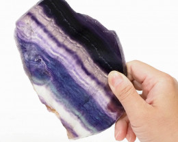 Natural Rainbow Fluorite Polished Slab Plate DS833