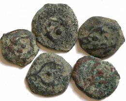 Genuine 2,000-Year-old Widows mite Coin 103-76BC  CCC 1216