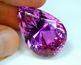 Flawless 77 Carat Pink Kunzite Gemstone