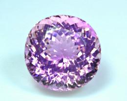 Flawless 87.36 Carat Pink Kunzite Gemstone