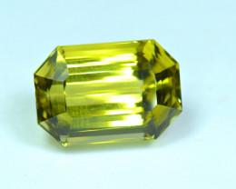 Flawless 25.36 Carat Canary Color Kunzite Gemstone