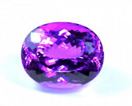 Flawless 260.27 Carat Vivid Pink Kunzite Gemstone