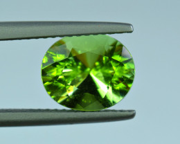 2.98 Carat Green Tourmaline Gemstone