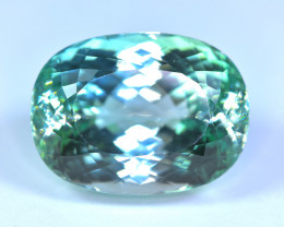 86.95 Carat Light Green Kunzite Gemstone