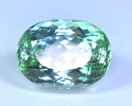 110 Carat Light Green Kunzite Gemstone
