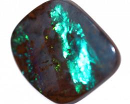 12.20 Cts  Australian Boulder  Opal  Brilliant Flash   FE 732
