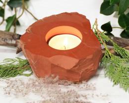 Natural Red Jasper Tealight Holder NR42