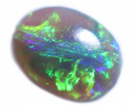 0.80 Cts  Mintabie  Black  Opal  FE 892