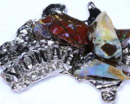 178.70CTS AUSTRALIAN MAP SOUVENIR RJA-1603     Rarejewelry