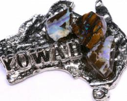 139.75CTS AUSTRALIAN MAP SOUVENIR RJA-1611     Rarejewelry