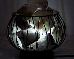 Rough Crystal Rock Relaxing Amore Lamp – White LED Bulb